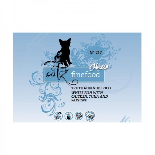 Catz finefood Mousse No 217 - 100g x 12 als Pack